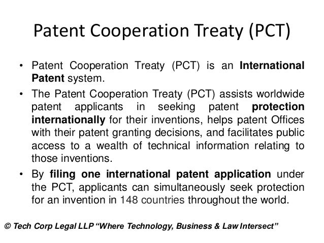 International Wipo Organization For Filing International Patents Inte