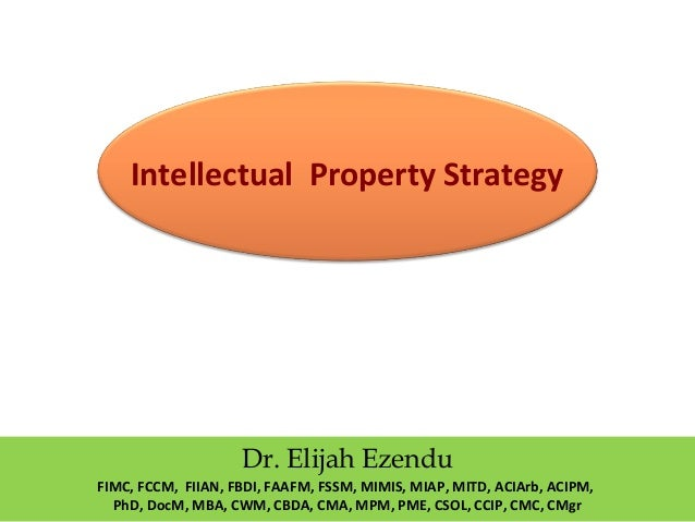 intellectual property thesis