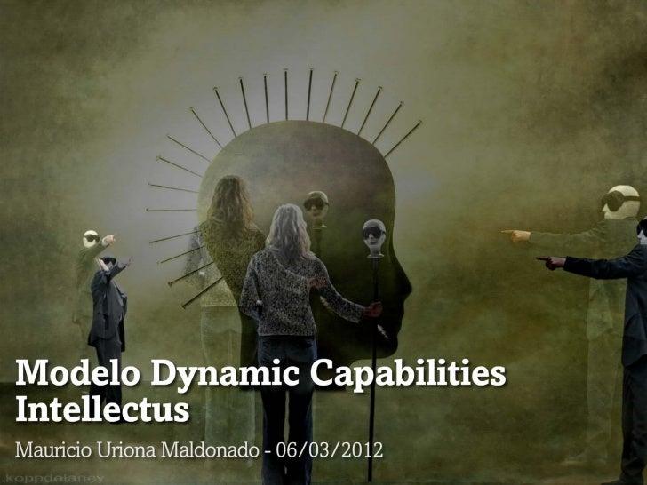 Modelo Dynamic Capabilities Intellectus