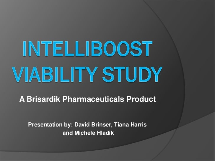 A Brisardik Pharmaceuticals Product  Presentation by: David Brinser, Tiana Harris              and Michele Hladik