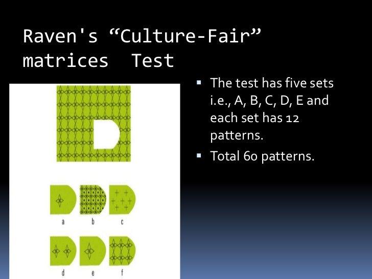 Kohs Block Design Test Patterns