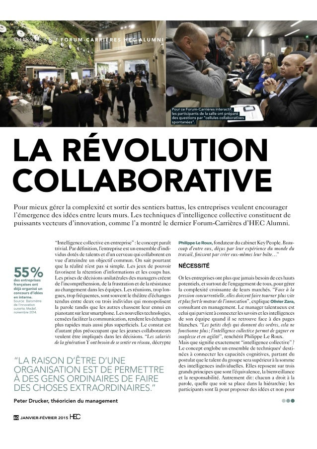 Intelligence collective-hec-fev2015 Institut Francophone d'intelligence collective