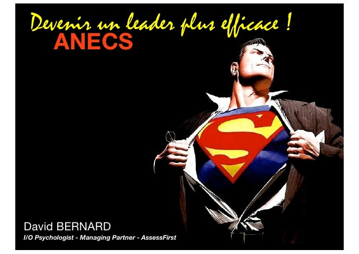 "Devenir un leader plus ""intelligent"" !"