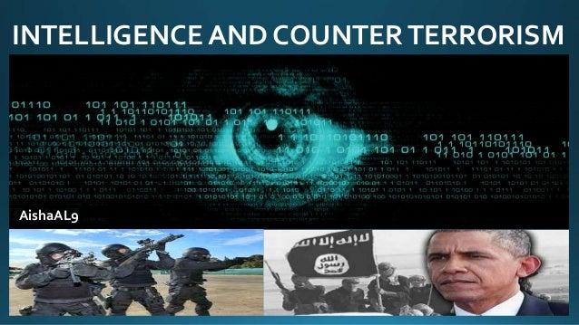 INTELLIGENCE AND COUNTERTERRORISM AishaAL9
