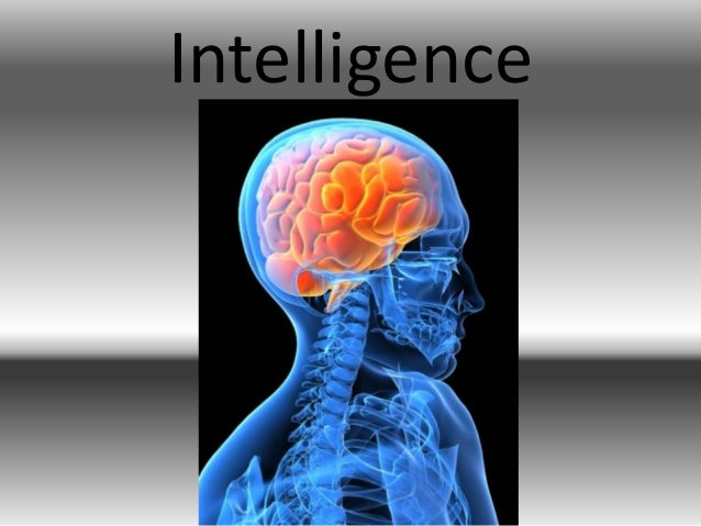 intelligence powerpoint
