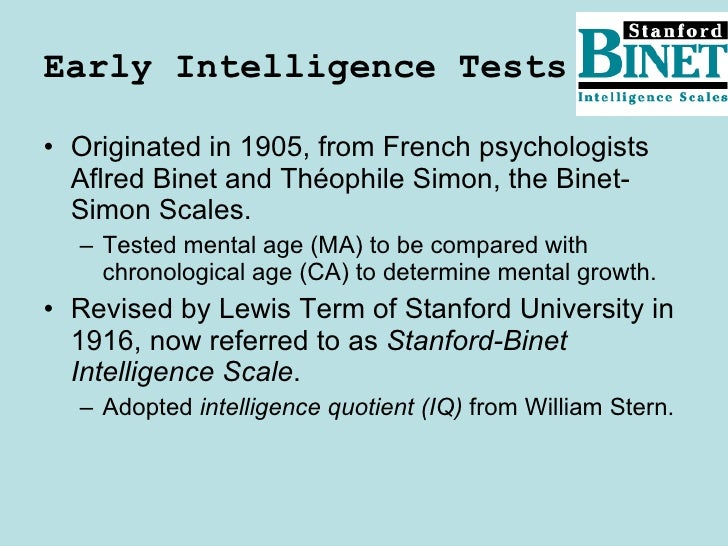 the development reliability and validity of the stanford binet test Study 59 psych 396 final exam flashcards from amanda w on a test of infant development contains three scales: (1) cognitive ability, (2 positive relationship exists between scores on a new test of intelligence and scores on the fourth edition of the stanford-binet intelligence.