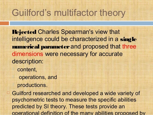 three dimensional theory of intelligence