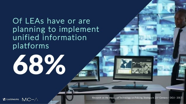 4 68% Of LEAs have or are planning to implement unified information platforms Research on the Impact of Technology on Poli...