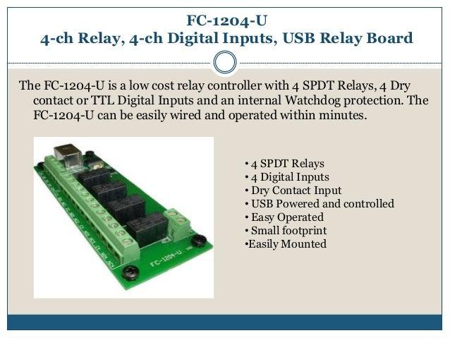 Intelligent Appliance   USB Relay board  usb relay contoller
