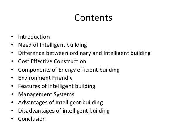Intelligent building ppt Slide 2