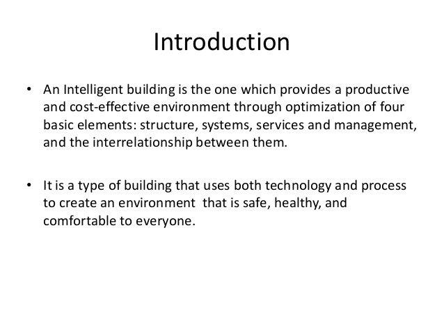 Intelligent building ppt Slide 3