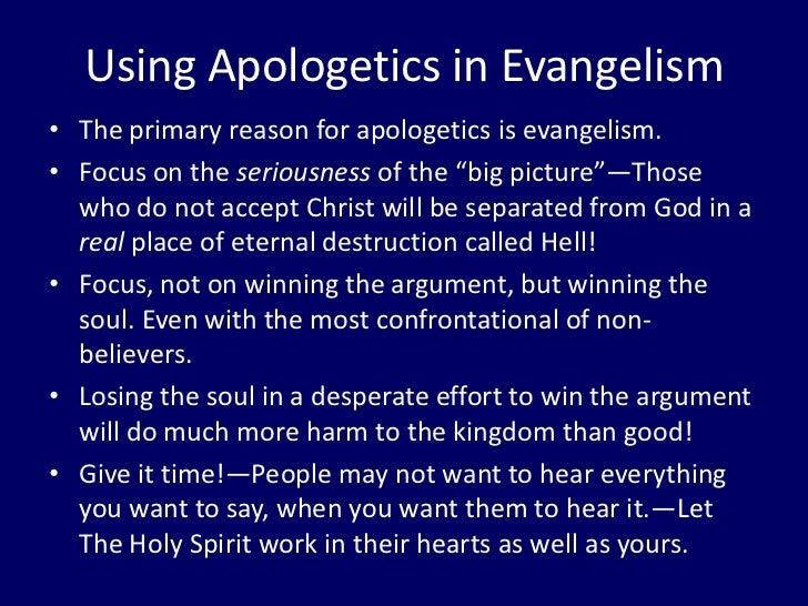 Christian Apologetics, Intelligent Design, and Evangelism PPT