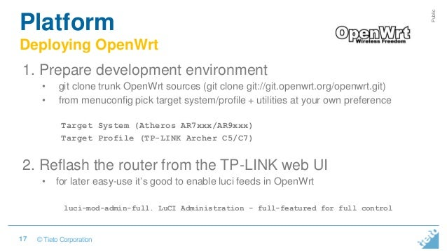 Intelligent IoT gateway on openwrt