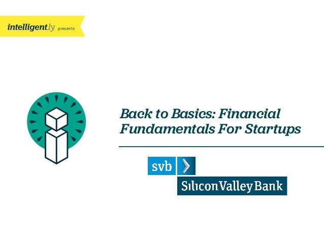 presents Back to Basics: Financial Fundamentals For Startups