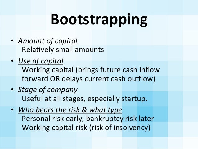 Startup Roadkill??....these financing tools will help you avoid the 18 wheelers Slide 7