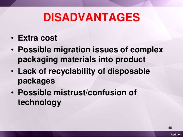 Disadvantages Of Natural Gas >> Intelligent packaging