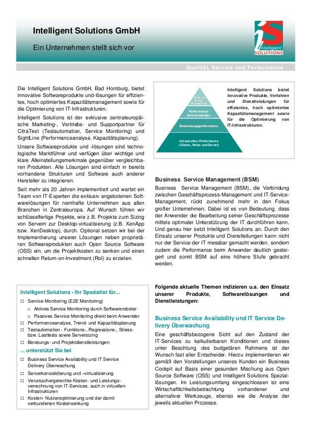 Business Service Management (BSM)Business Service Management (BSM), die Verbindungzwischen Geschäftsprozess-Management und...