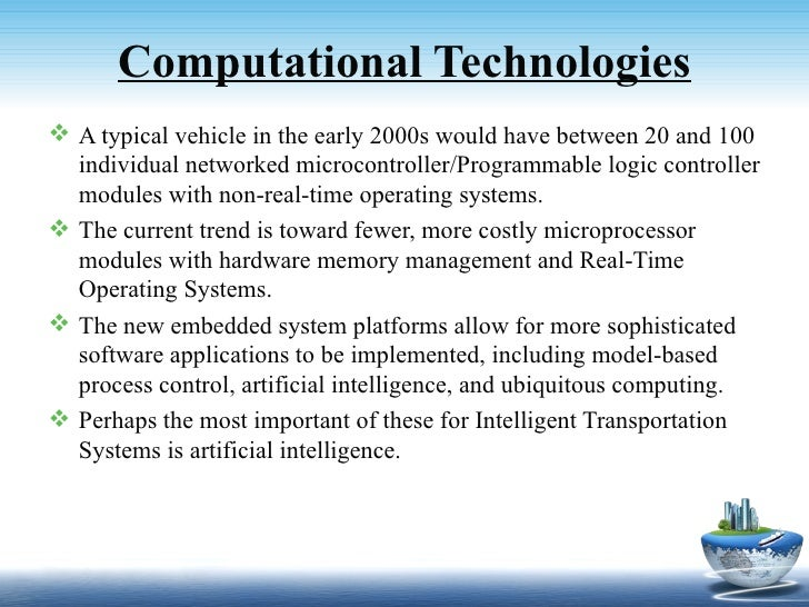 intelligent transportation systems technologies and applications