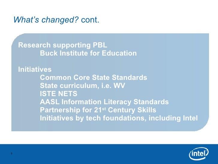 Project Based Learning Primer 12 06 10