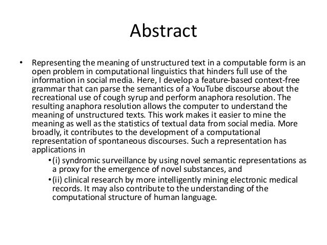 abstract and methodology A method is declared with the abstract specifier if we wish to only declare it and not provide its implementation for instance, in the previous example, we could have defined the method move() as abstract if we are sure that three does not exists any general animal.