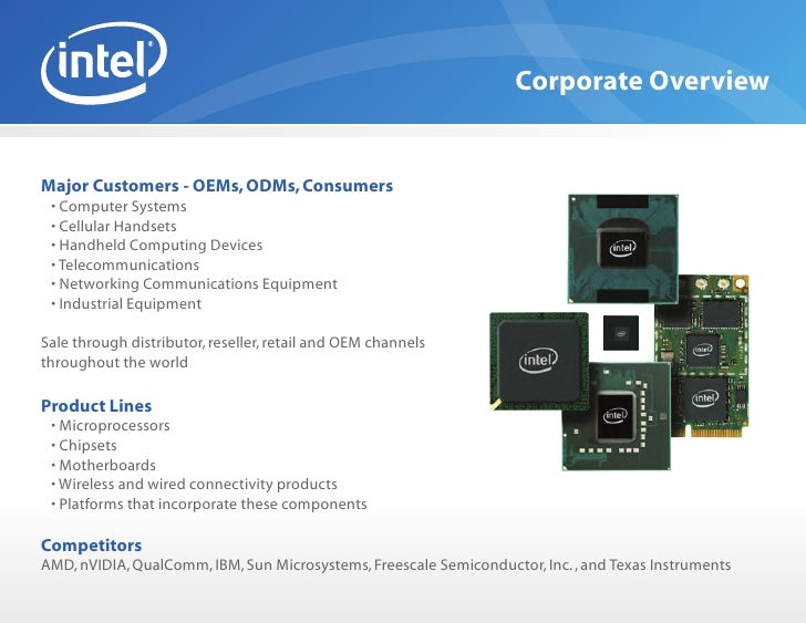 the history of the intel corporation the largest manufacturer of computer devices in the world Intel corporation is the largest semiconductor manufacturer in the world the swot analysis of intel corporation corporation and the world's biggest.