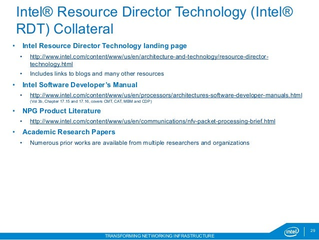 Intel® RDT Hands-on Lab