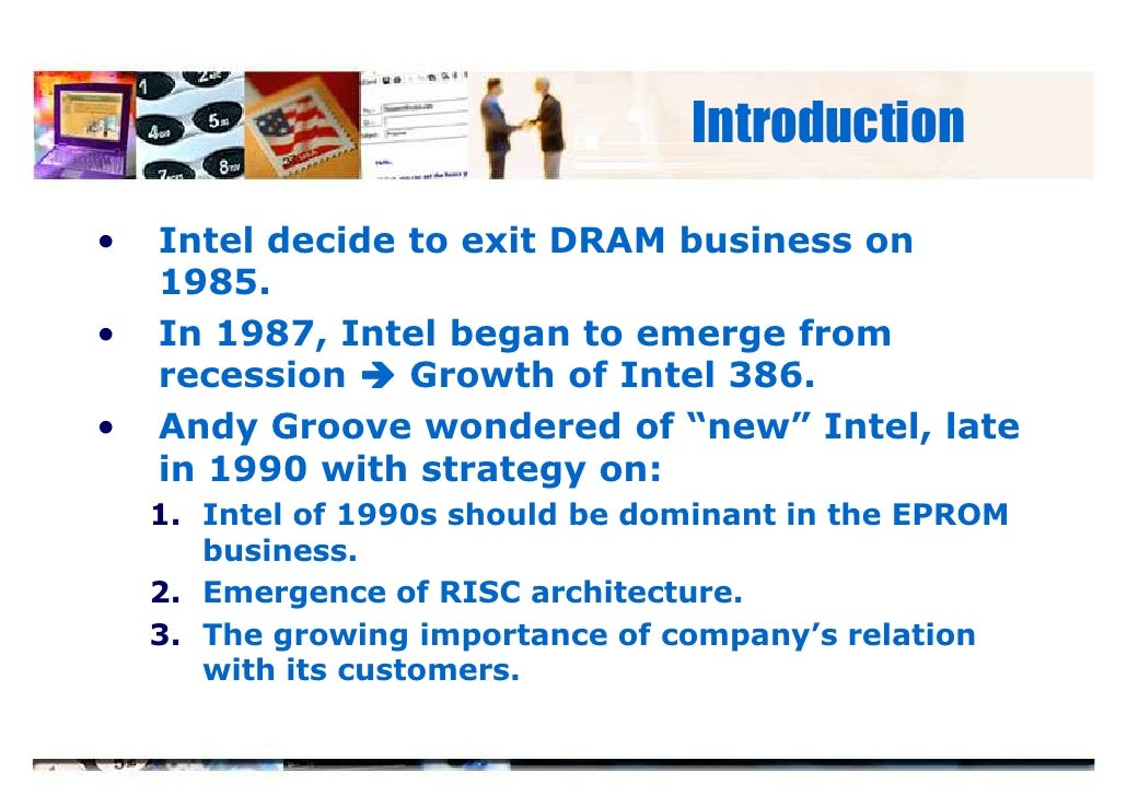 intel case study summary Like the day not long after the stanford case study when intel executives craig  kinnie and dennis carter arrived in his cubicle to confront him.