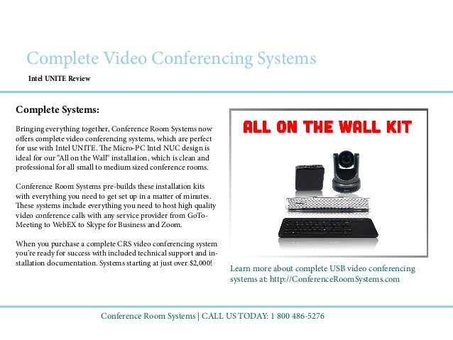 ... Video Tutorial; 9. Intel UNITE Review Conference Room ... Part 59