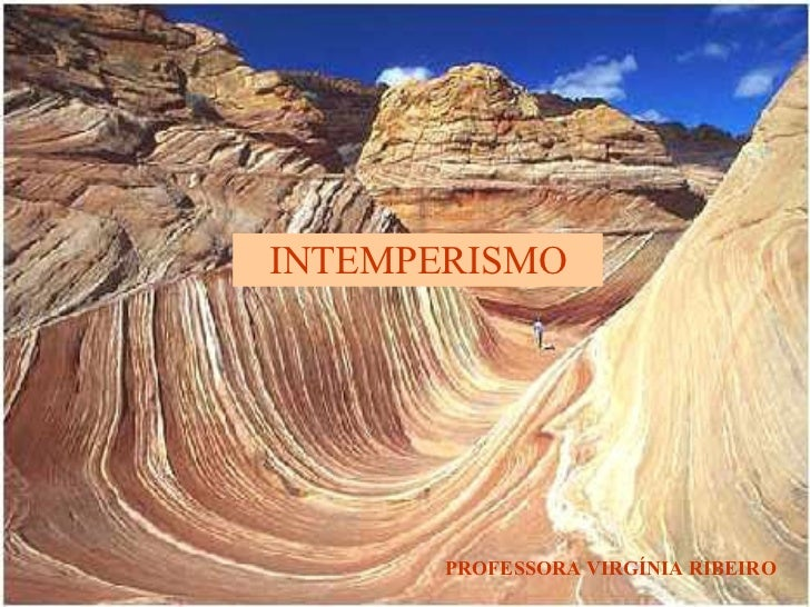 INTEMPERISMO PROFESSORA VIRGÍNIA RIBEIRO
