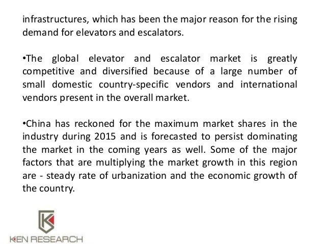 """global elevator and escalator market report Italy's economy suffered a major setback during the global financial crises  the  report titled """"italy elevators and escalators market by new."""