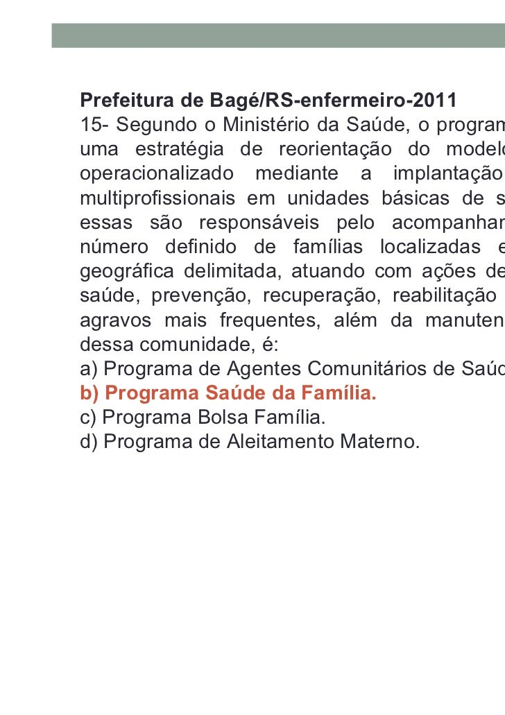 Prefeitura de Cuité/PB-Enfermeiro-201117- São atribuições do enfermeiro na equipe de saúde dafamília, exceto:A) Realizar c...
