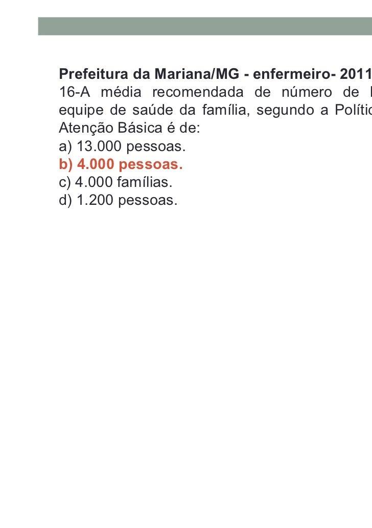 Prefeitura de Cuité/PB-Enfermeiro-201118-O repasse financeiro feito pelo governo federal para asequipes de saúde da famíli...