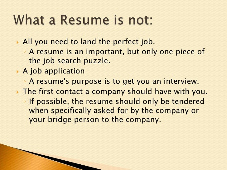 resume get noticed to get that