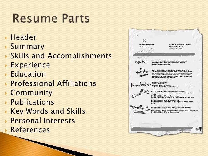 intense resume get noticed to get that job