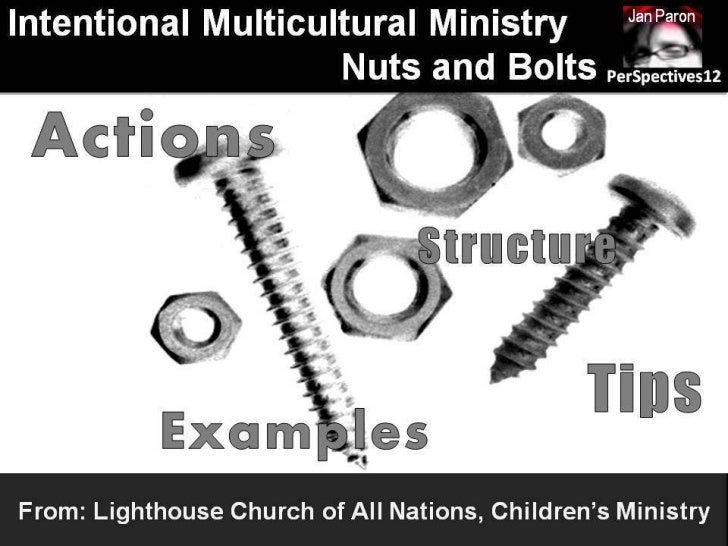 Intentionality in Action: Lighthouse Church of All Nations, Children's Ministry (PerSpectives 12)