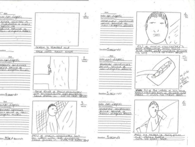 Initial Intention Storyboard