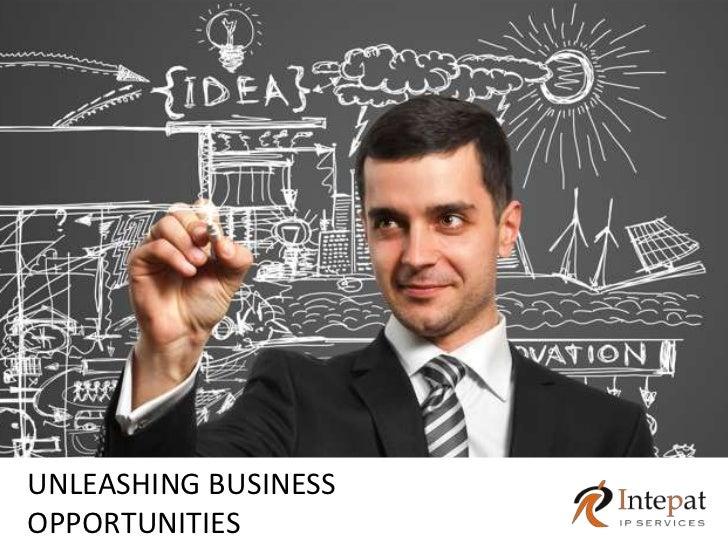UNLEASHING BUSINESSOPPORTUNITIES