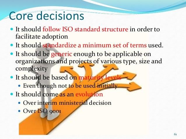 Conclusion  The recognition that project management is a concrete knowledge          area The recognition that proj...
