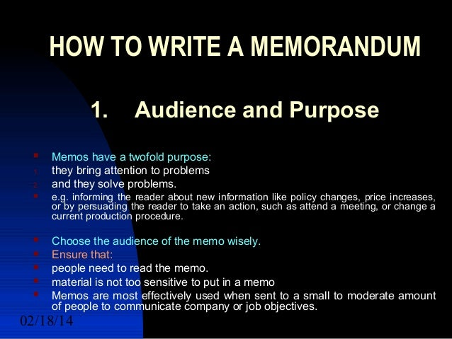Inter office memorandum and informal short report – Inter Office Memo