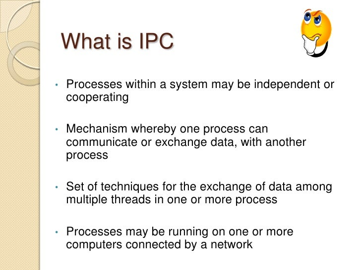 What is ipc? Inter-process communication youtube.