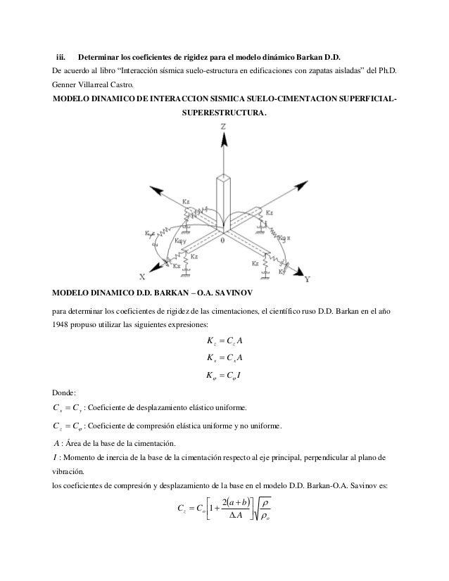 Interacci n suelo estructura for Modelo acuerdo extrajudicial clausula suelo