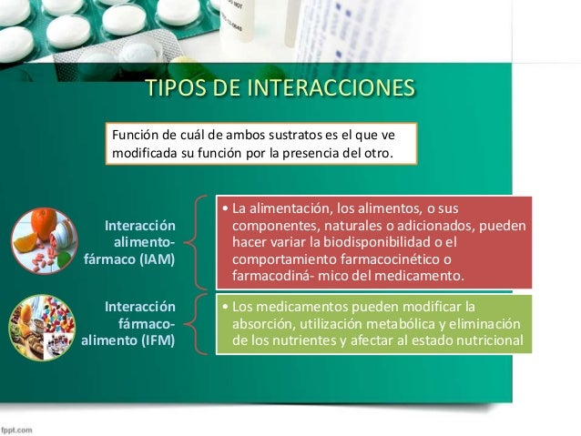 Interacciones farmaco-alimento Slide 3
