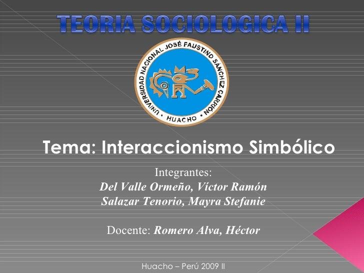 Integrantes: Del Valle Ormeño, Víctor Ramón Salazar Tenorio, Mayra Stefanie Docente:  Romero Alva, Héctor Huacho – Perú 20...
