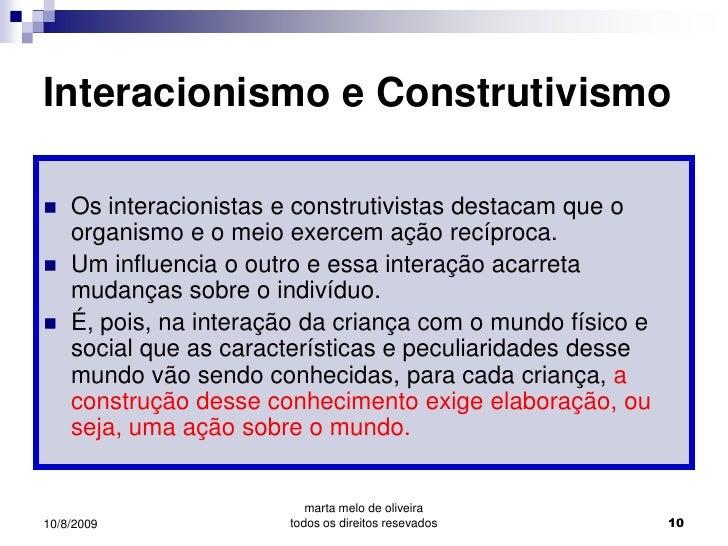 42dcc476606 ... 10. Interacionismo e Construtivismo ...