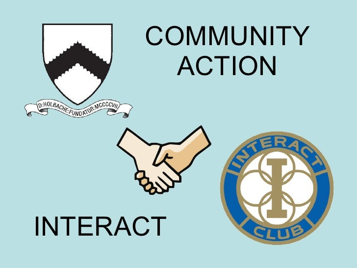 COMMUNITY ACTION INTERACT