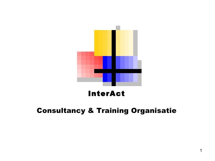 InterAct Consultancy & Training Organisatie