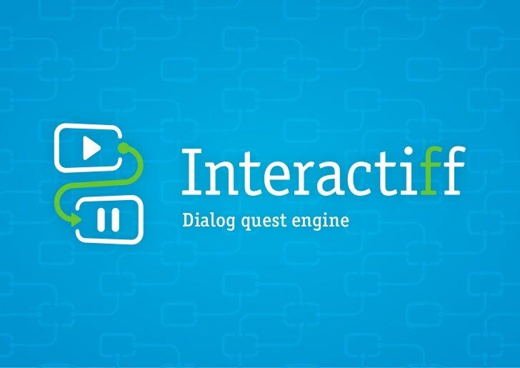 Dialog quest engine