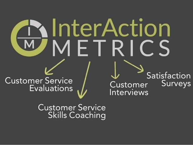 Interaction Metrics Innovation