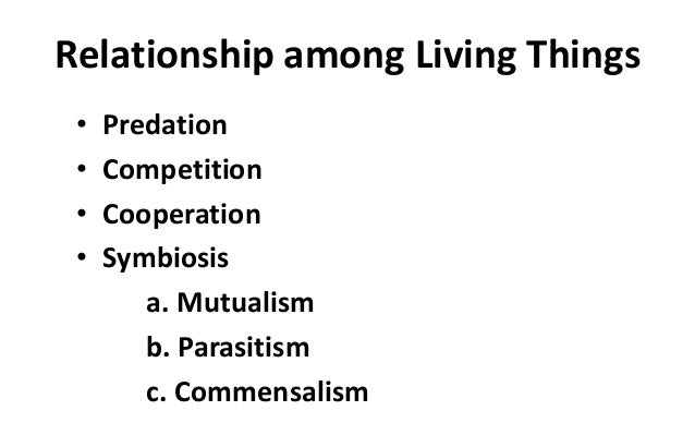 Interaction of Living Things