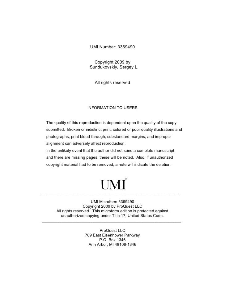 Theses and Dissertations: An Introduction
